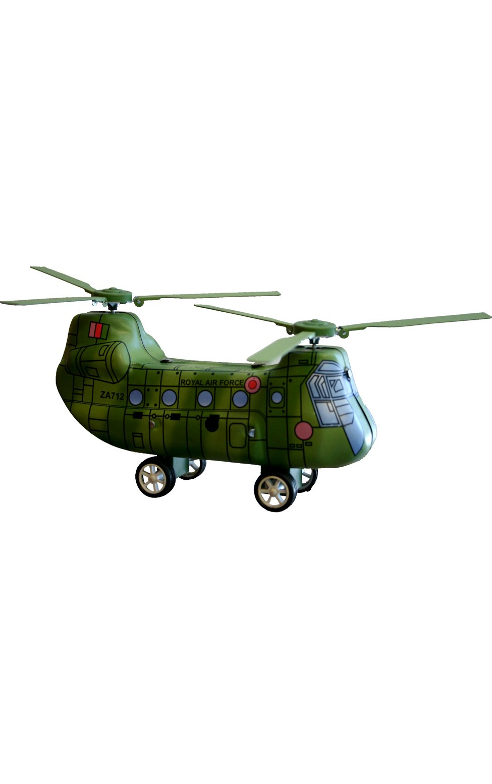 SHAN MS479 Collectible Tin Toy - Helicopter