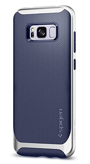 timeless design 75fc9 df36c Spigen Neo Hybrid Designed for Samsung Galaxy S8 Plus Case (2017) - Arctic  Silver