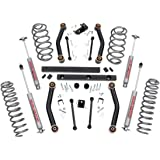 "Rough Country 906S 4"" Suspension Lift Kit for Jeep TJ"