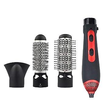 Juego De Cepillos Para Rizar Cepillo De Aire Caliente Secador De Pelo Eléctrico Multifunción Secador De