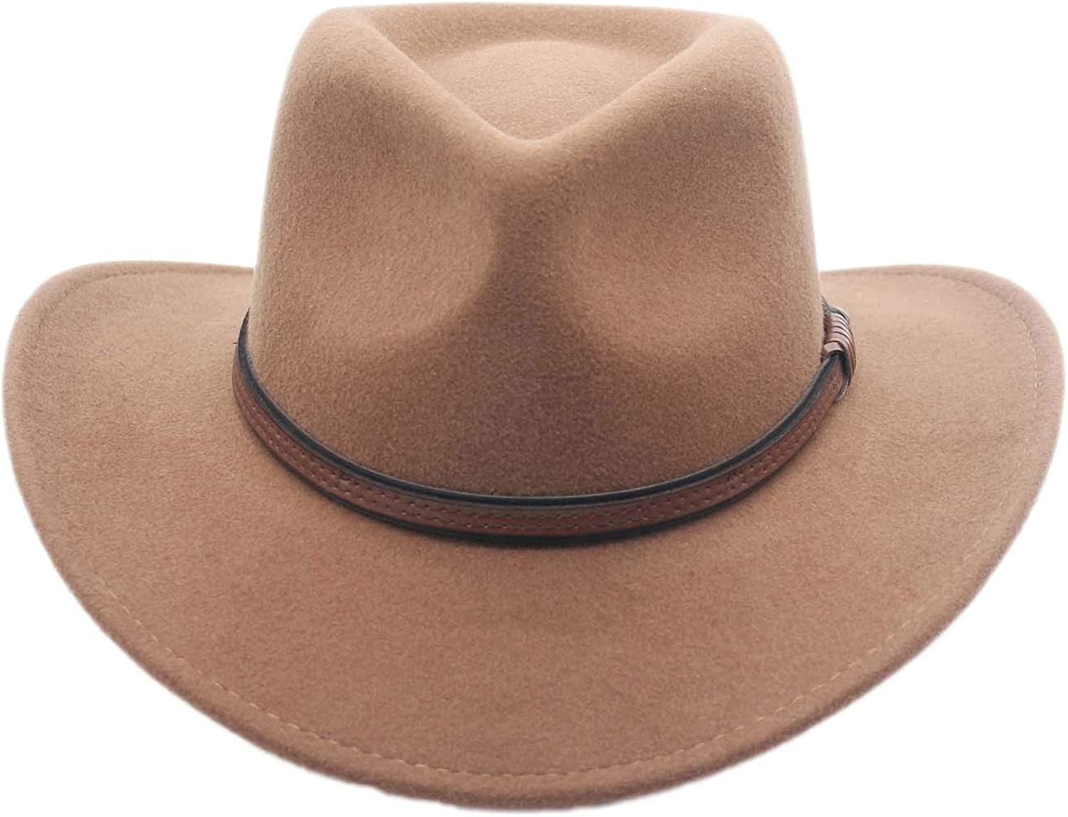 Silver Canyon Boot and Clothing Company Mens Outback Wool Cowboy Hat Bozeman Crushable Western