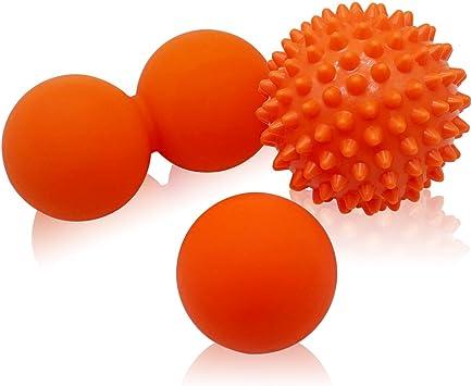 Masaje pelota erizo masajeadora Bola de Lacrosse, Pelota Masaje ...