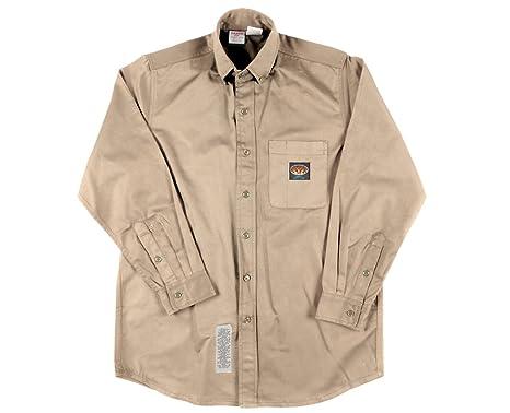 Cheap Fire Retardant Clothing >> Rasco Fr Khaki Dress Shirt 7 5 Oz