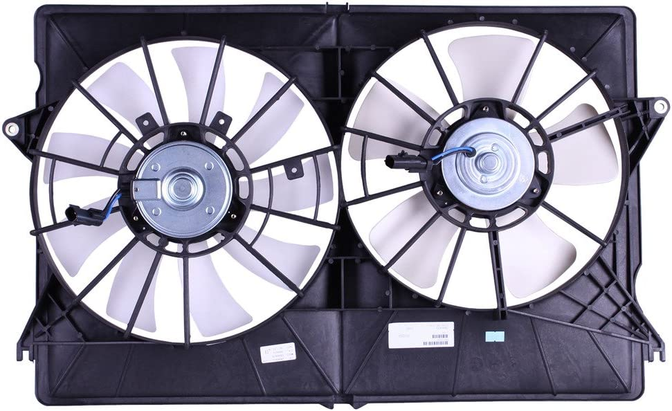 Tong Yang FAN-CR66003A Replacement Radiator/Condenser Cooling Fan Assembly 04'-07' CR Pacifica (FAN-CR66003A)
