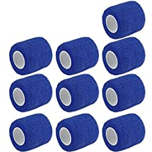 """Etopars™ 10 X Self Adhesive Cohesive Wrap Bandages Strong Elastic First Aid Tape Skin Color for Wrist Ankle Sport 2"""" X 5 Yards"""