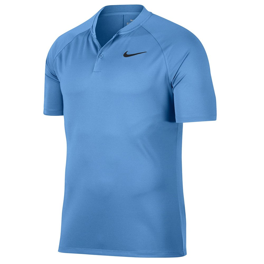 Nike Dri Fit Momentum Golf Polo 2018 University Blue/Black Small by Nike