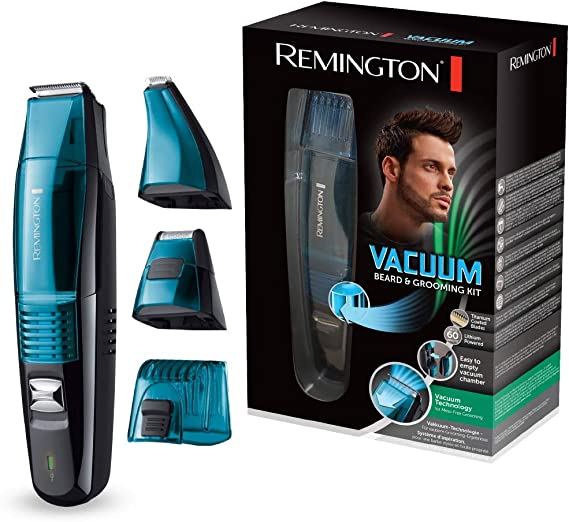 Remington MB6550 Vacuum - Kit barbero, cuchillas revestidas de ...