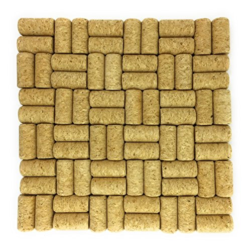 Comfyable #8 Straight Wine Corks for Crafts w/o Pattern, 7/8