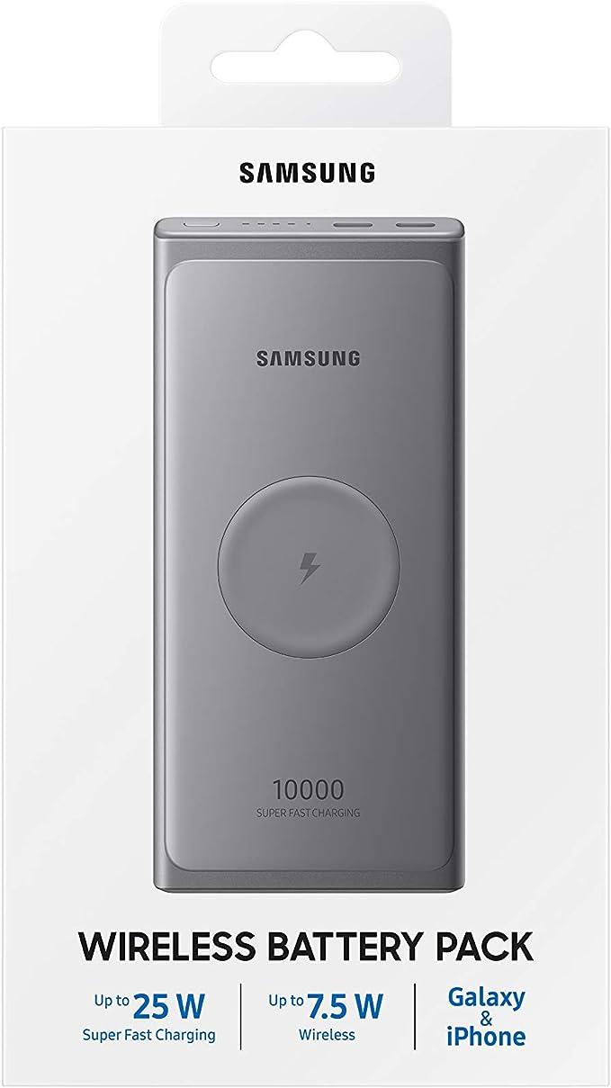 SAMSUNG Induktive Powerbank 10.000 mAh (Type-C): Amazon.es: Electrónica