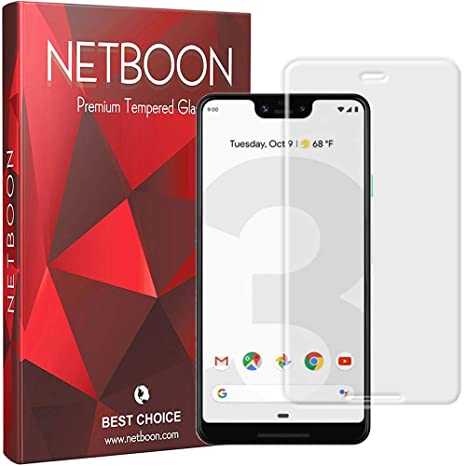NETBOON Google Pixel 3 XL Tempered Glass Screen: Amazon in