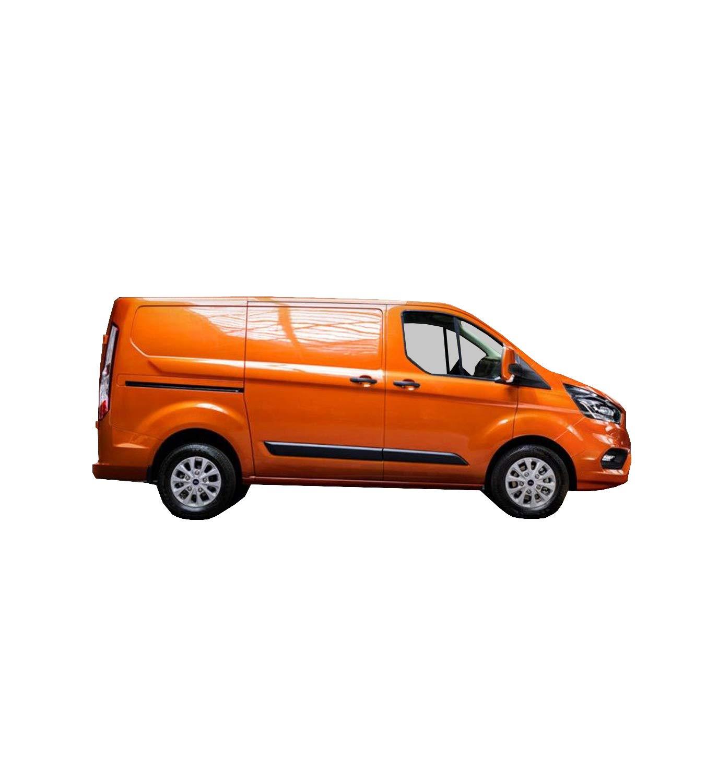 MC/_Performance Deflectores Exterior para Transit//TOURNEO Custom Desde 2013 Derivabrisas Delanteros
