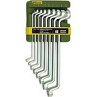 Proxxon 23810 Dubbel ringnyckelsats, 8 delar från 6 x 7 till 20 x 22 mm