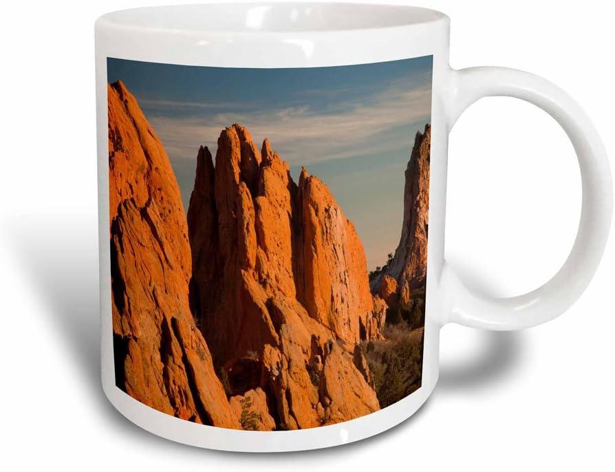3dRose Garden of The Gods, Springs, Colorado USA Mug, 11 oz