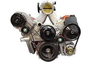 LS1 Camaro R4 a/c aire acondicionado Compresor Conversión Kit de soporte LS LSX AC