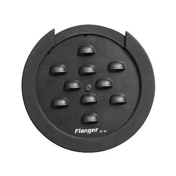 Ulable Flanger FS-08 - Cubierta para agujero acústico para guitarra (fácil de instalar y quitar): Amazon.es: Instrumentos musicales