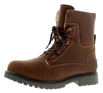 ae1a59e9438 Wrangler Aviator Mens Leather Formal Boots Chestnut - Chestnut - UK Sizes  6-12