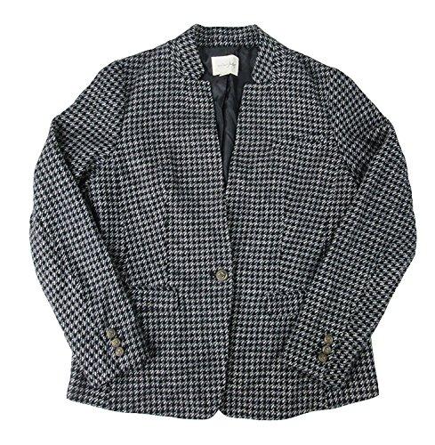 Houndstooth Blazer Jacket - 9