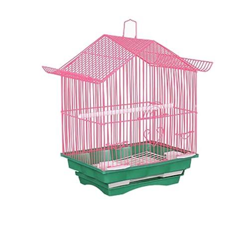 Vlook Jaula de cría de jaulas de Aves con Nido de pájaro y ...