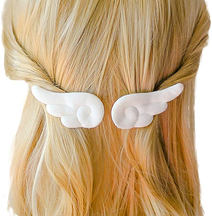 Sweet Girl Accessories Soft Square 2Pcs Barrettes Lovely Hair Clip Plush