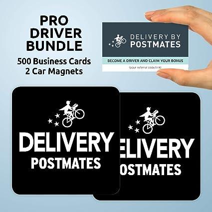 Amazon com: Postmates Pro Driver Bundle Includes 500