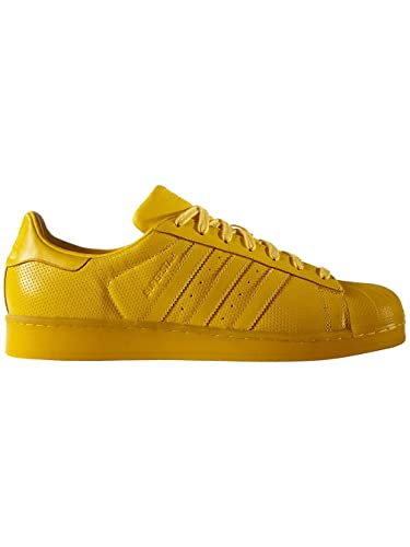 adidas yellow trainers