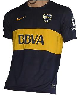 b127bccd7 Amazon.com | Nike Boca Juniors Stadium Home Soccer Jersey 2018/19 ...