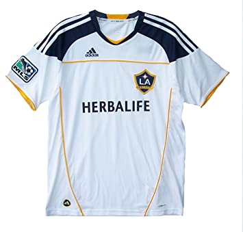 979416101 adidas Major League Soccer MLS Los Angeles LA Galaxy Herbalife Youth  X-Large XL Performance Jersey Shirt Classic 3 Stripe: Amazon.co.uk: Sports  & Outdoors