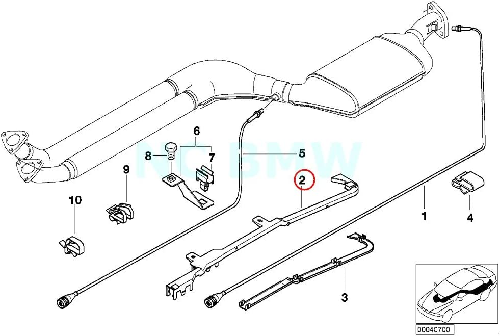 BMW Genuine Guide Tube Lower Part Replacement Parts Automotive prb ...