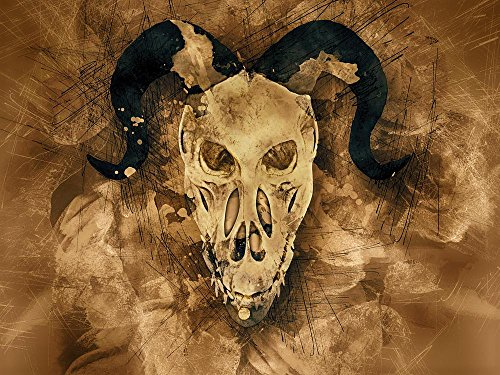 Gifts Delight Laminated 32x24 inches Poster: Skull Demon