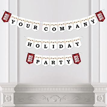 amazon com custom jolly santa claus personalized holiday party