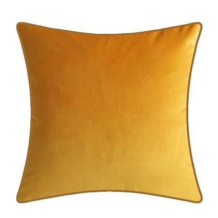 Amazon Com Deardo 18 X18 Super Soft Velvet Throw Pillow Cover Home