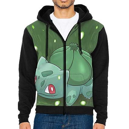 Glask Cute B-ulbasau-r Workout Jackets Fashion Hoodie Sweatshirts Unique  Zippered Sweaters 5cd576679619