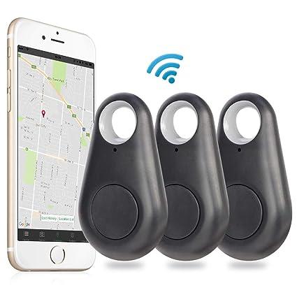 Smart Finder, EiffelT Bluetooth Locator Key Finder Pet Tracker Alarm  Wireless Anti-lost Device Sensor Remote Selfie Shutter Seeker for Kids,  Pet,