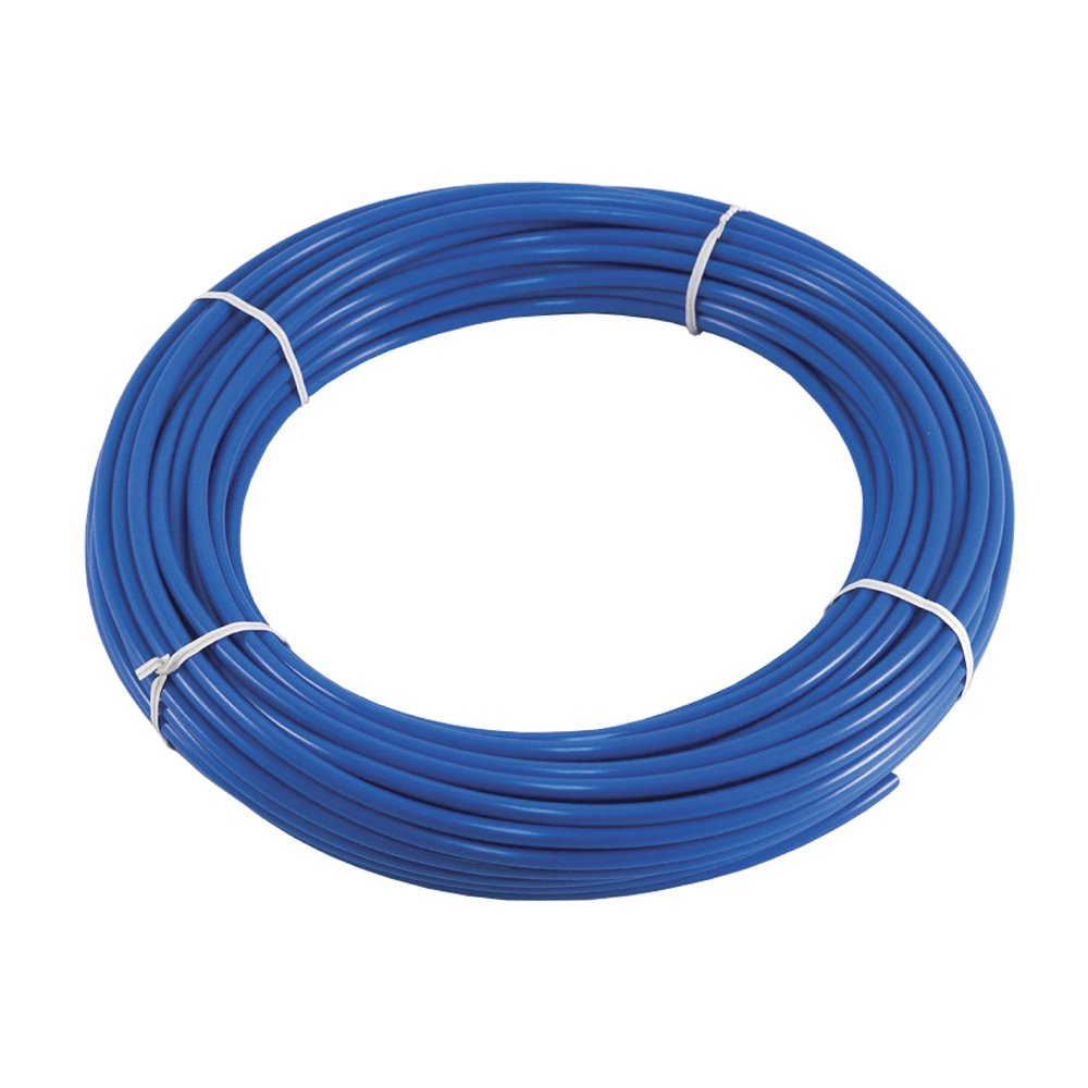 "PureSec 2018 5WP1/4TU-BLUE NSF Certified CCK Blue PE Tubing/Hoses 1/4"" Inch OD x 0.142"" Inch ID at 70°F-120PSI to 150°F-60PSI for RODI Systems"