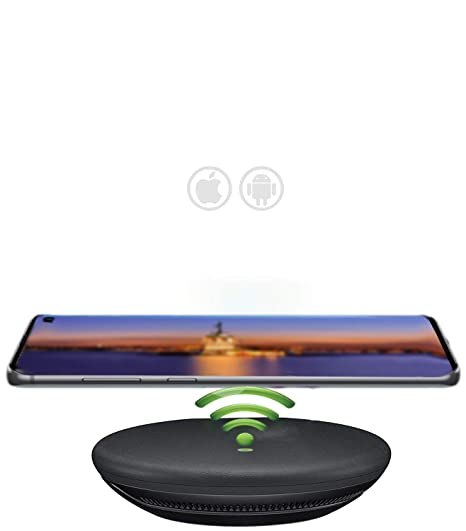 Amazon.com: Qi Certified Fast Charge Wireless Charger for ...