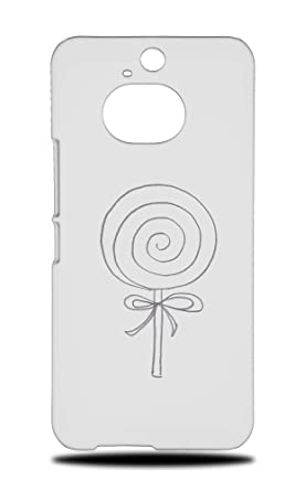 Amazon.com: Cute Lollipop Sketch Art Drawing Hard Phone Case ...