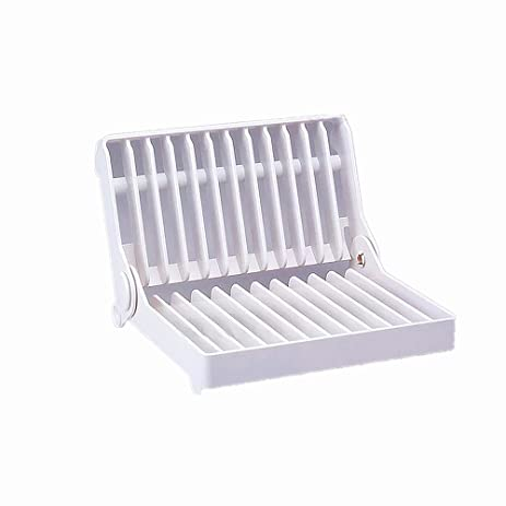 leoyoubei Vertical Plate Rack-Display or Storage/ Kitchen utensils folding plate storage rack or  sc 1 st  Amazon.com & Amazon.com: leoyoubei Vertical Plate Rack-Display or Storage ...