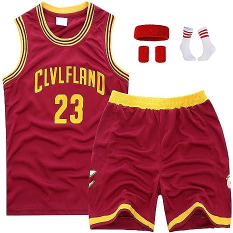 Conjunto de Uniforme de Baloncesto para niños para Lebron James ...