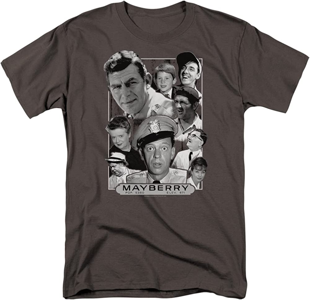 Trevco Mens Andy Griffith Short Sleeve T-Shirt
