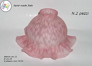 Kronleuchter Pink ~ Paar lampenschirme glas notebook lampen kronleuchter pink