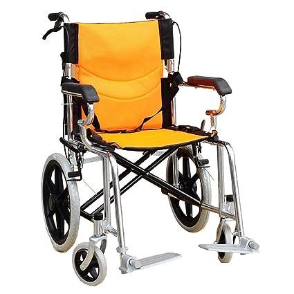 DPPAN Drive - Sillas de ruedas de transporte médico, ligeras, plegables, para adultos
