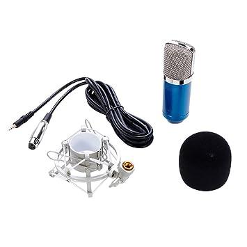 Cuitan Profesional Q-700 3.5mm Micrófono de Condensador Vocal ...