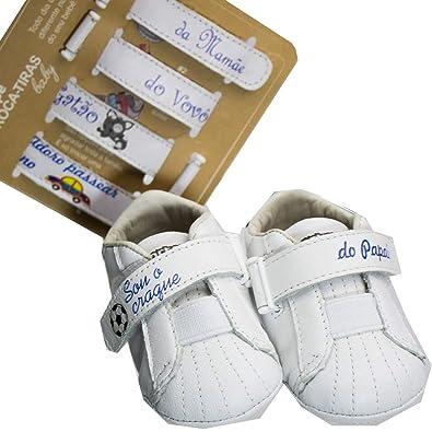 7ff15c602 Tênis Bebê Menino Ortopé Troca Tiras RN: Amazon.com.br: Amazon Moda