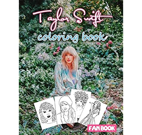 Taylor Swift Coloring Book 30 Beautiful Illustrations Bonus Step By Step Instruction To Draw Taylor Swift Marnie Morton 9798614202002 Amazon Com Books