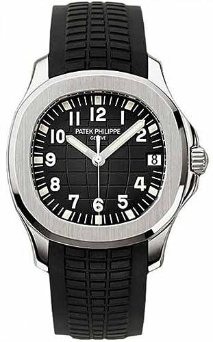 PATEK Philippe Aquanaut automático Negro Dial Acero Inoxidable Hombre Reloj 5167 A-001: Amazon.es: Relojes