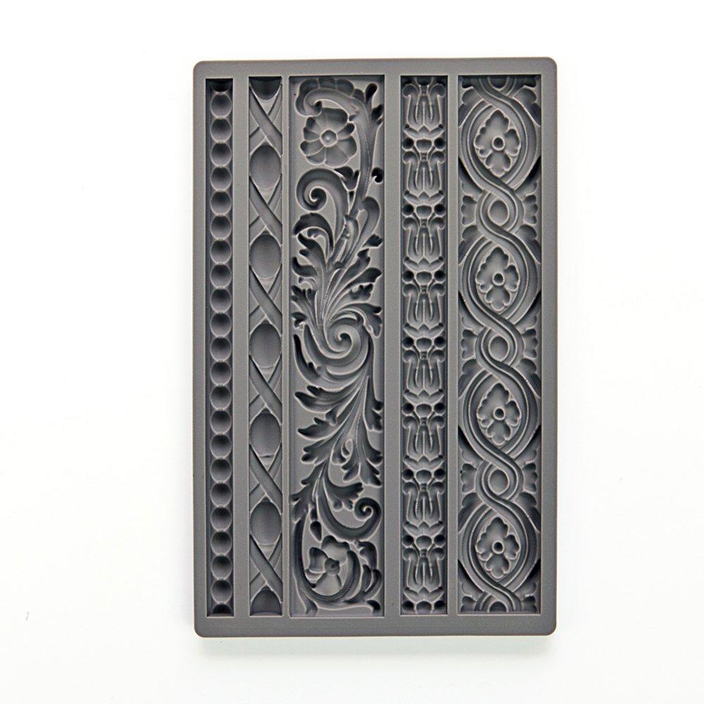 Prima Marketing 655350815325 Iod Vintage Art Decor Moulds- Moulding 1 Iod Vintage Art Decor Moulds -Moulding 1''