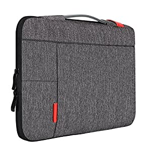 "iCozzier 13 - 13.3 Inch Laptop Sleeve, Handle Strap Carrying Case Handbag Protective Bag for 13"" Macbook Air / Macbook Pro / Other Laptop- Dark Gray"