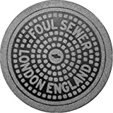 Fred and Friends Feet First Manhole Mat London