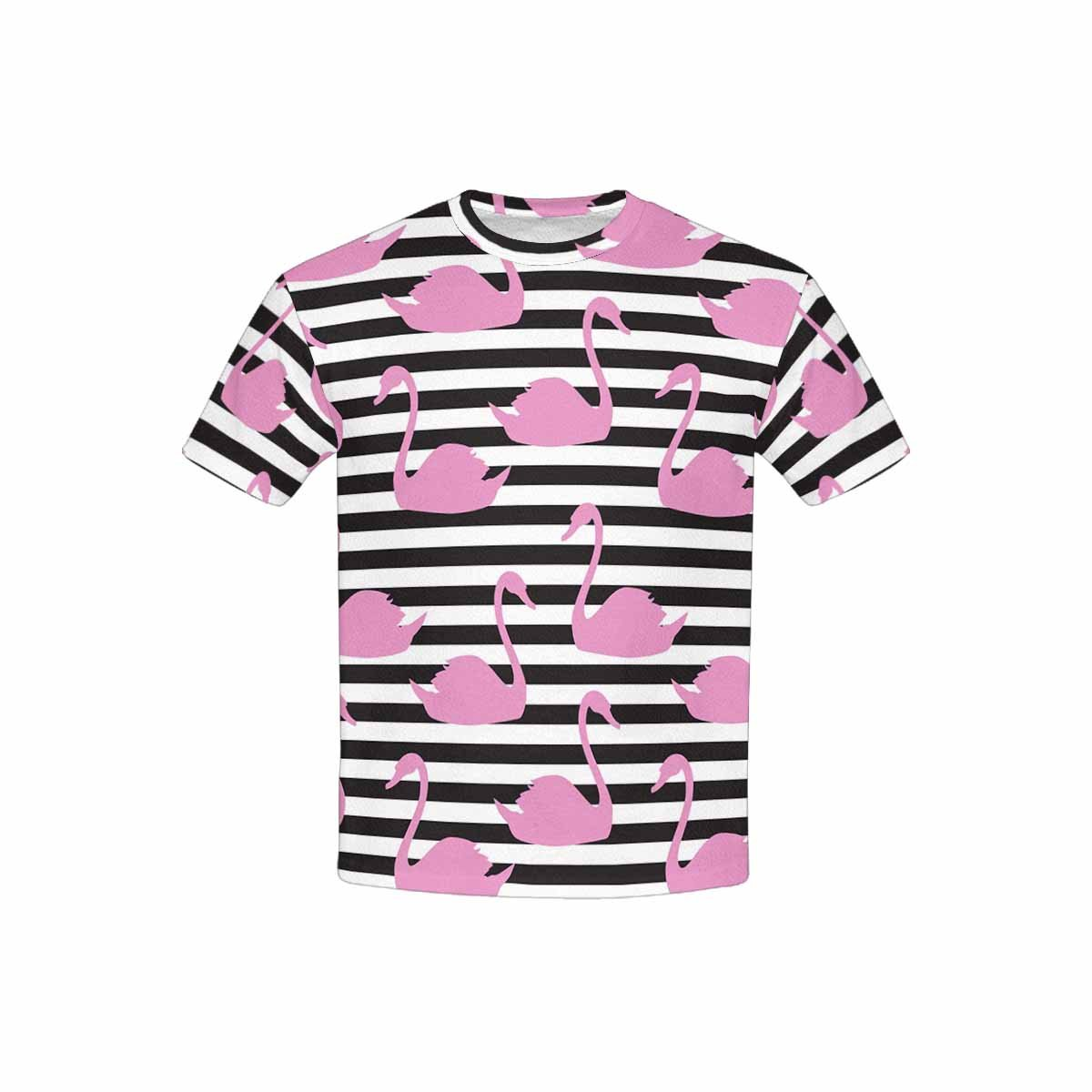 INTERESTPRINT Childs T-Shirt Swan XS-XL