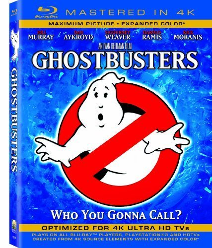 Ghostbusters (Mastered in 4K) (Single-Disc Blu-ray + Ultra Violet Digital Copy) by Sony Pictures Home Entertainment